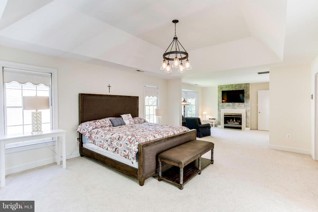 Master bedroom - 1144 ROUND PEBBLE LN, RESTON