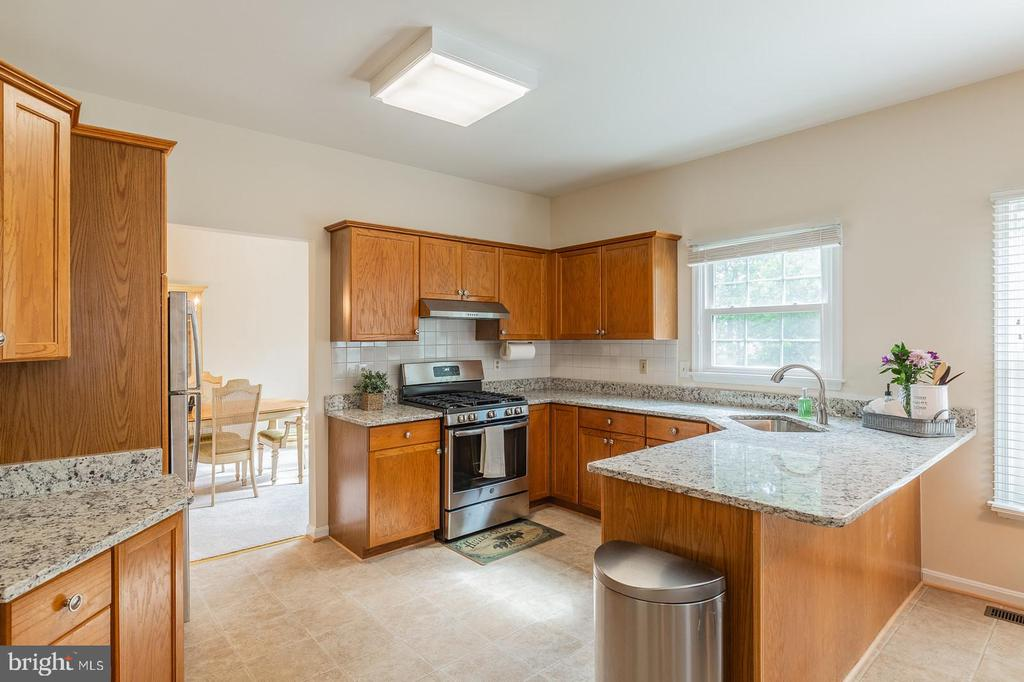 New granite counters, ss appliances, and floors! - 18 WESTHAMPTON CT, STAFFORD