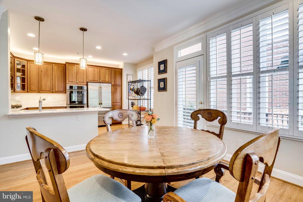 Gourmet and designer  stainless steel appliances - 738 FORD'S LANDING WAY, ALEXANDRIA