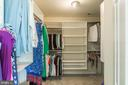 Huge Walk-in Closet off Mather Bath - 18 WESTHAMPTON CT, STAFFORD