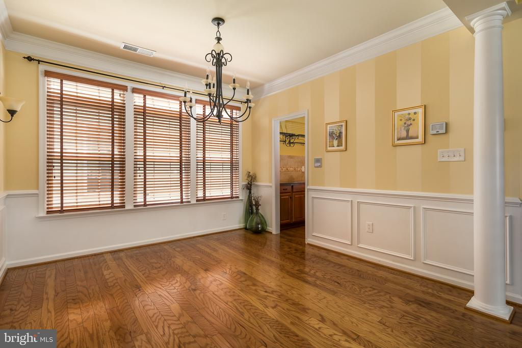 Formal Dining Room with Custom Lighting! - 20579 CRESCENT POINTE PL, ASHBURN