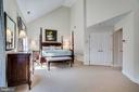 Master  bedroom suite with high ceilings - 738 FORD'S LANDING WAY, ALEXANDRIA