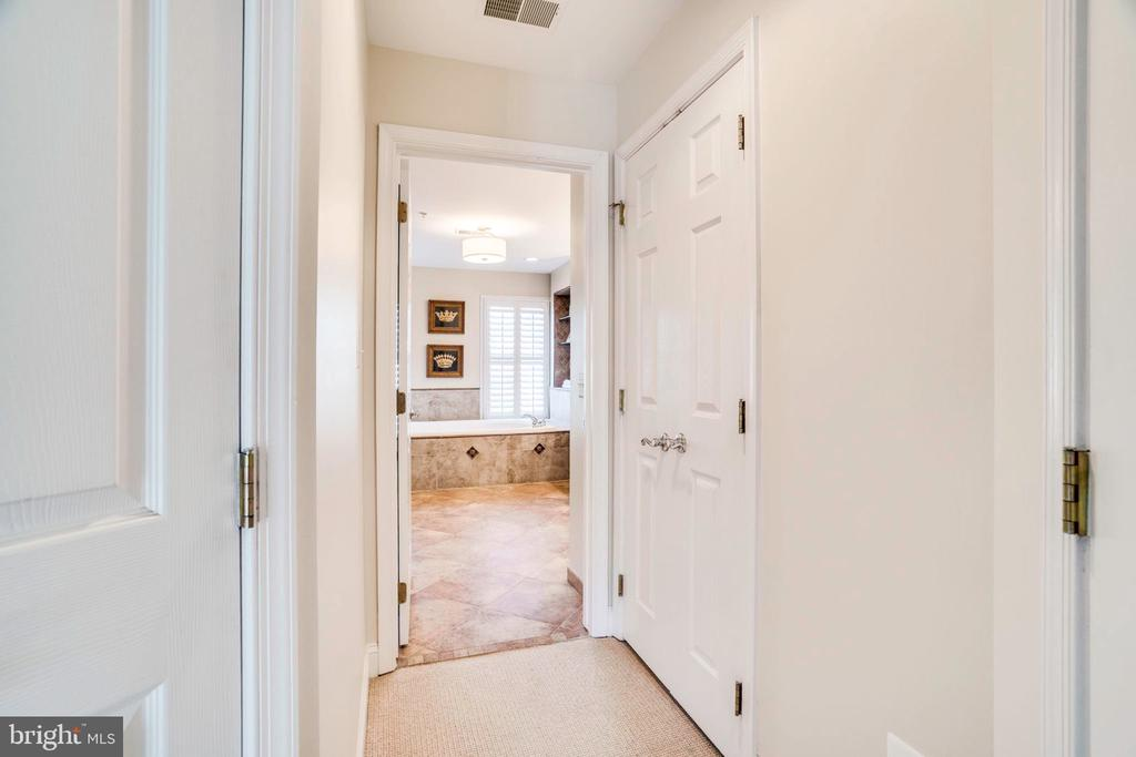 Linen closet, and 2 other walk in closets in MBR - 738 FORD'S LANDING WAY, ALEXANDRIA