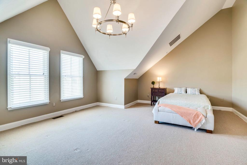 HUGE 3rd bedroom with en suite full bath - 738 FORD'S LANDING WAY, ALEXANDRIA