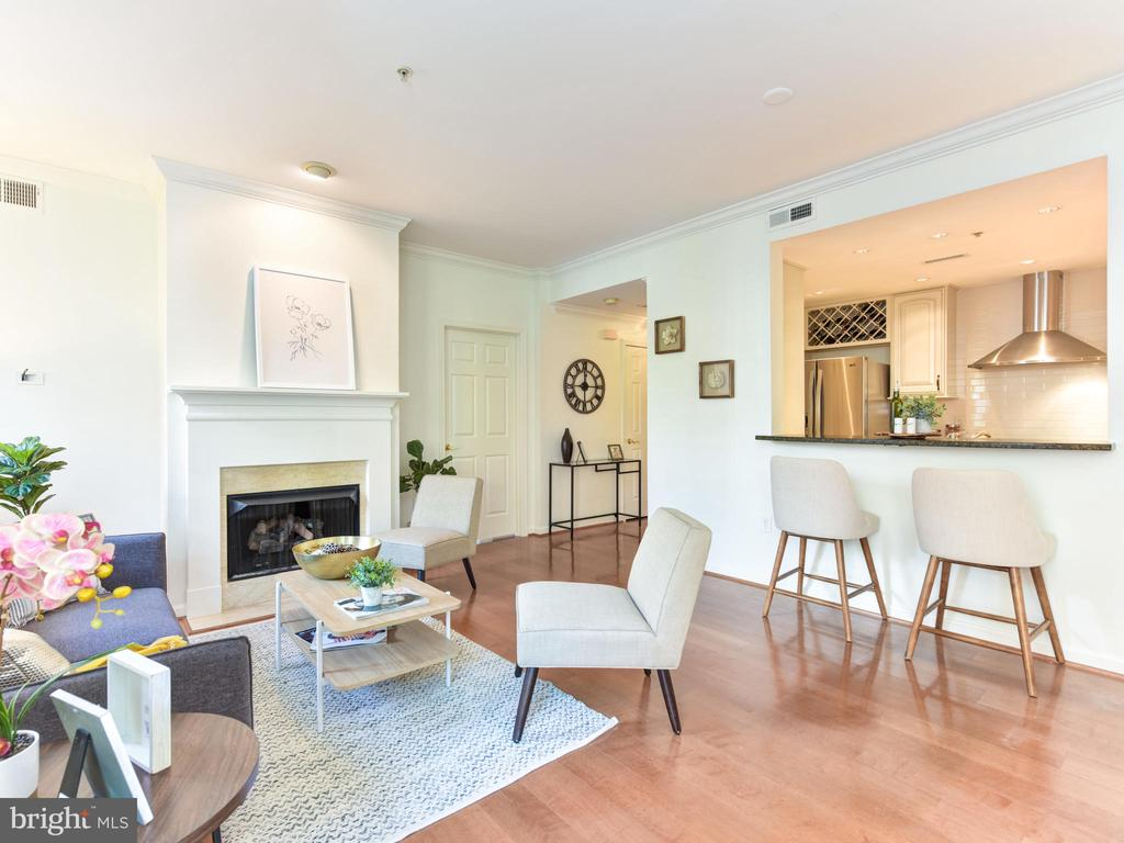 Easy Access to Kitchen - 621 ST ASAPH ST N #103, ALEXANDRIA