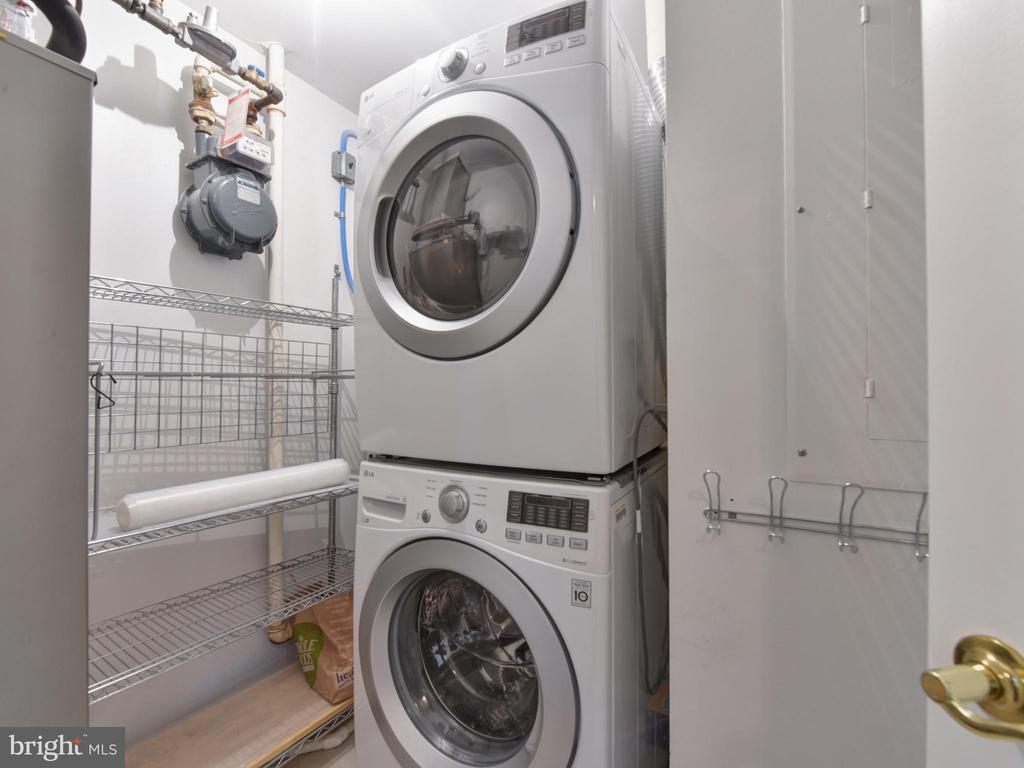 Laundry Room - 621 ST ASAPH ST N #103, ALEXANDRIA
