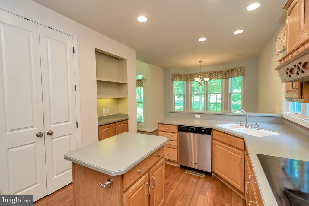 Large pantry & shelving with recessed lighting - 430 BIRDIE RD, LOCUST GROVE