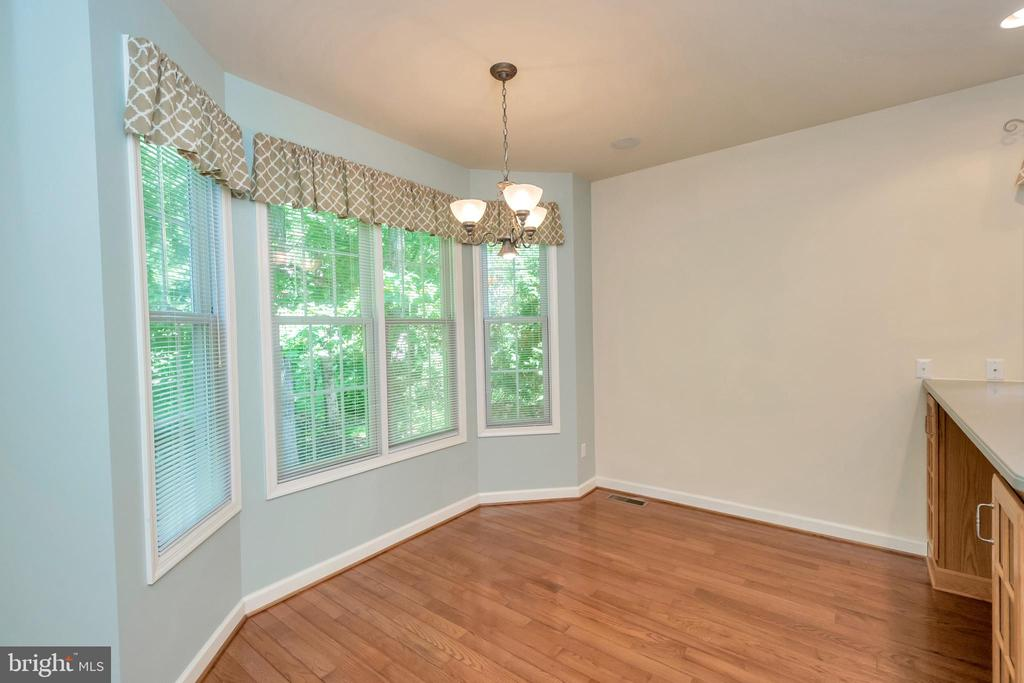 Bay-window in kitchen--room for table & 4 chairs - 430 BIRDIE RD, LOCUST GROVE