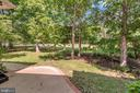 View of manageable, private backyard and fairway - 430 BIRDIE RD, LOCUST GROVE