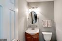 Main Level Half Bath - 46758 WOODMINT TER, STERLING