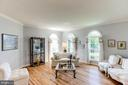 Living Room with Arched Windows - 7900 GREENEBROOK CT, FAIRFAX STATION