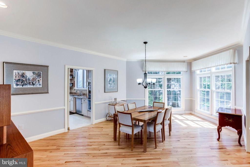 Dining Room - 7900 GREENEBROOK CT, FAIRFAX STATION