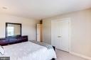 Bedroom 2 view 2 - 7900 GREENEBROOK CT, FAIRFAX STATION