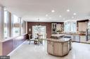 Tiled Floor/ Cook-Top/ Recessed lighting - 7900 GREENEBROOK CT, FAIRFAX STATION