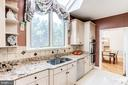 Granite Counters & Double Wall Oven - 7900 GREENEBROOK CT, FAIRFAX STATION