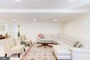 Basement Living Area - 7900 GREENEBROOK CT, FAIRFAX STATION