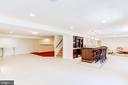 Full Daylight Basement Great For Entertainment - 7900 GREENEBROOK CT, FAIRFAX STATION