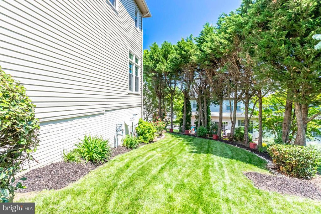 Tree Lined Yard - 7900 GREENEBROOK CT, FAIRFAX STATION