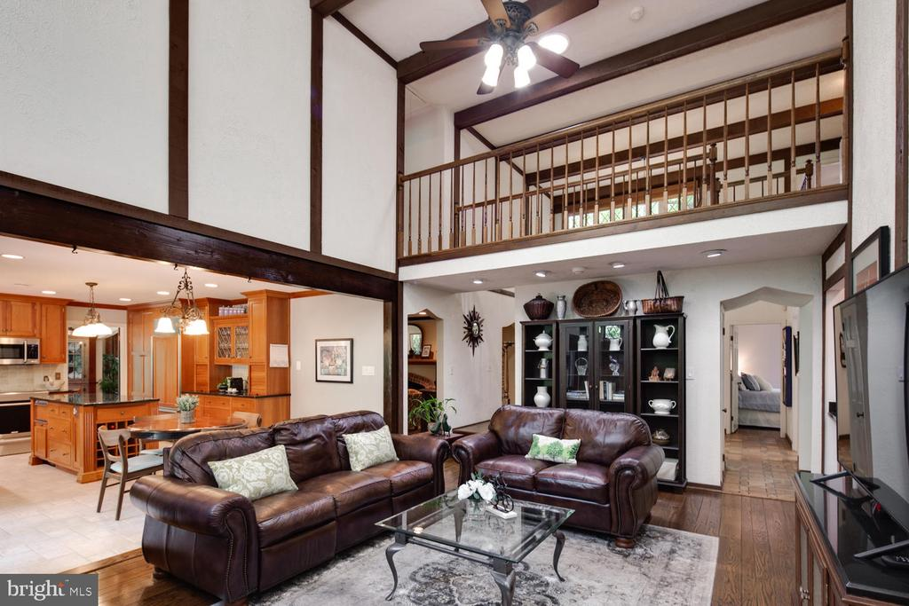 Classic tudor elements abound in this residence - 2821 N QUEBEC ST, ARLINGTON