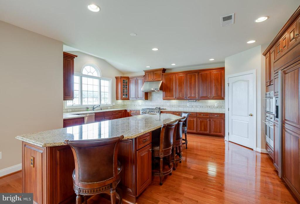 Large eat-in Kitchen with plentiful prep space - 15052 BANKFIELD DR, WATERFORD