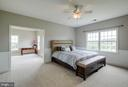 One of two larger bedrooms with attached study - 15052 BANKFIELD DR, WATERFORD