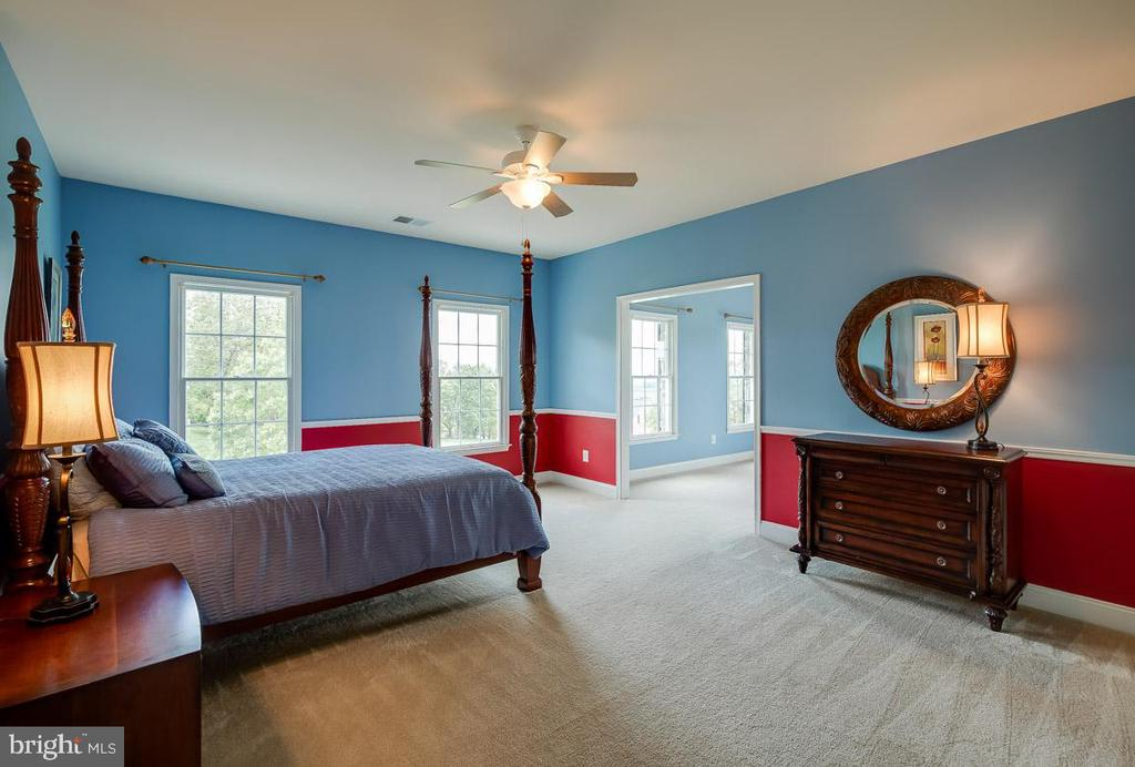 Second of the larger bedrooms with attached study - 15052 BANKFIELD DR, WATERFORD