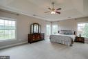 Dramatic Tray Ceiling with Crown Moulding to boot - 15052 BANKFIELD DR, WATERFORD