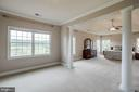 Seemingly endless Master suite with Morning Room - 15052 BANKFIELD DR, WATERFORD