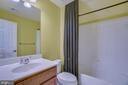 Top floor full bath - 18460 KERILL RD, TRIANGLE
