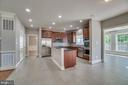 Large pantry and stainless steel appliances - 18460 KERILL RD, TRIANGLE
