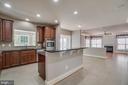 Huge gourmet kitchen - 18460 KERILL RD, TRIANGLE