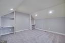 Top floor loft with full bath - 18460 KERILL RD, TRIANGLE