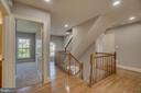 Refinished hardwood floors - 18460 KERILL RD, TRIANGLE