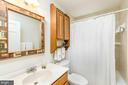 2nd Floor hall Bath - 708 A ST NE, WASHINGTON