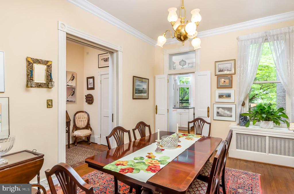Separate Dining Room - 708 A ST NE, WASHINGTON