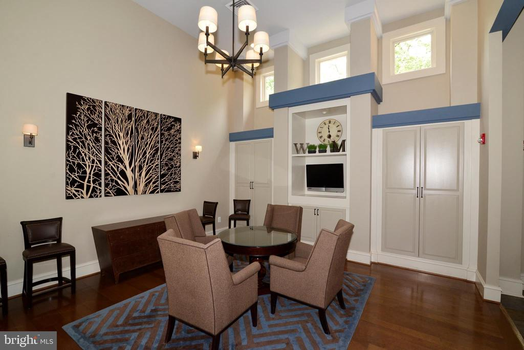 Clubhouse party room - 12144 CHANCERY STATION CIR, RESTON