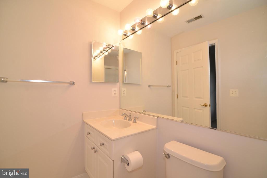Lower level bathroom - 12144 CHANCERY STATION CIR, RESTON