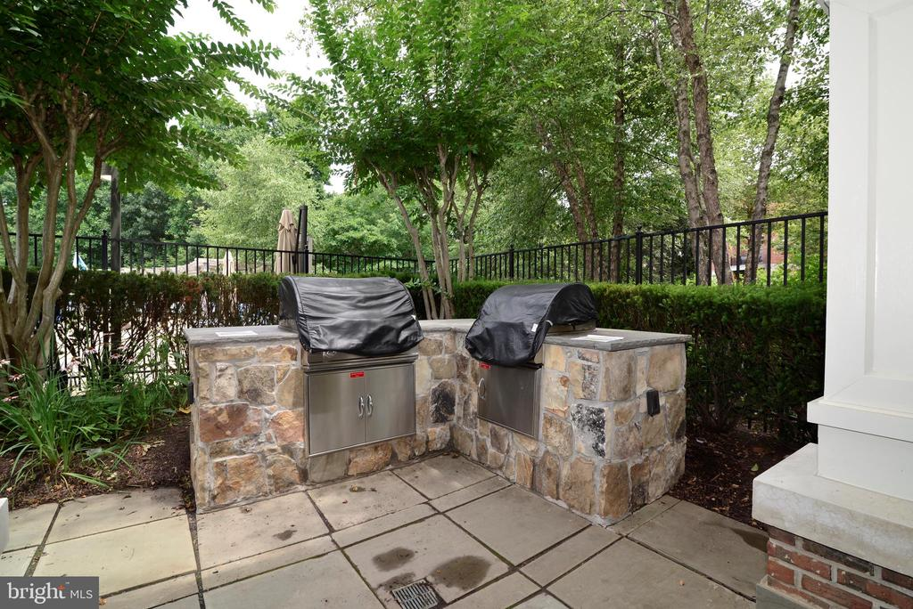 Clubhouse grills - 12144 CHANCERY STATION CIR, RESTON