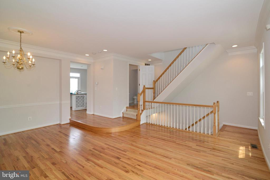 Dining room/living room combo - 12144 CHANCERY STATION CIR, RESTON