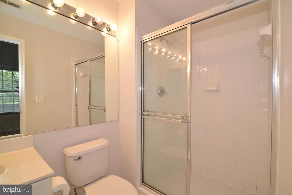 Lower level bathroom - 12144 CHANCERY STATION CIR, RESTON
