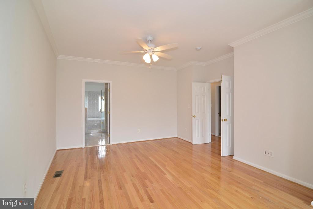 Master bedroom - 12144 CHANCERY STATION CIR, RESTON