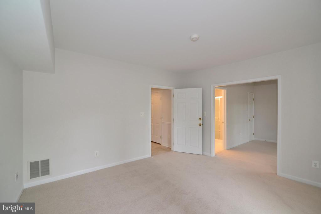 Lower level family/recreation room - 12144 CHANCERY STATION CIR, RESTON