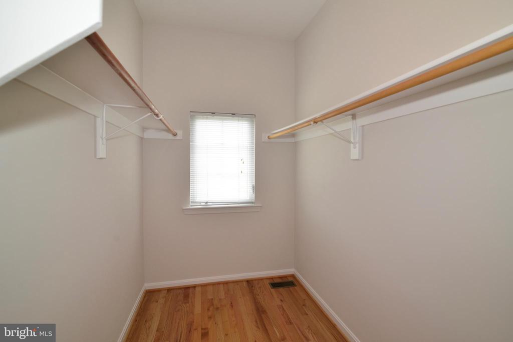 Master bedroom's walk-in closet - 12144 CHANCERY STATION CIR, RESTON