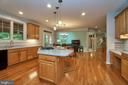 Gracious Open kitchen to family room - 1590 MONTMORENCY DR, VIENNA