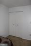 2nd Bedroom Closet - 31 SUGARLAND SQUARE CT, STERLING