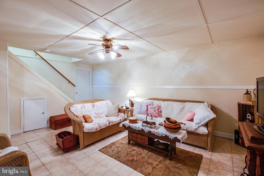 Family Room in Basement - 807 LEELAND RD, FREDERICKSBURG