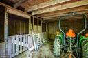 Stall Area of Barn - 807 LEELAND RD, FREDERICKSBURG