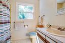 Upstairs Hall Bath - 807 LEELAND RD, FREDERICKSBURG