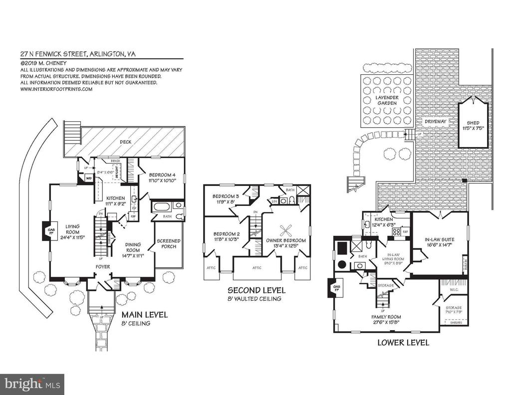 Floor Plans - 27 N FENWICK ST, ARLINGTON