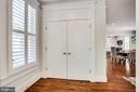 Foyer with generous-sized closet - 2007 N POLLARD ST, ARLINGTON